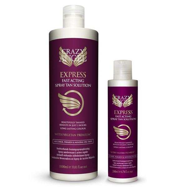 Crazy Angel Fast Acting Express Salon Spray