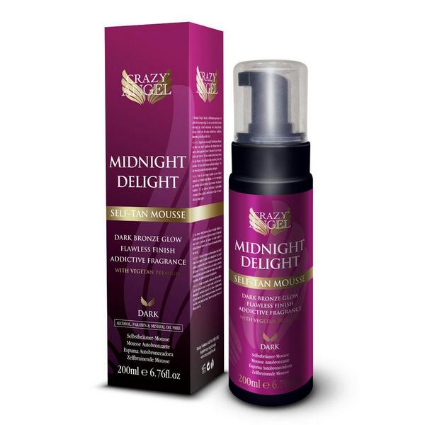 Crazy Angel Midnight Delight Dark Self Tan Mousse