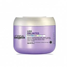 L'Oreal Liss Unlimited Mask 200ml