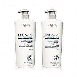 L'Oreal Serioxyl Shampoo & Conditioner Duos + Pumps