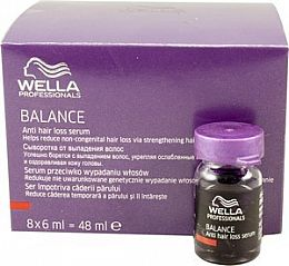 Wella Balance Anti Hair Loss Serum 8pk