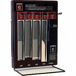 Cricket Carbon Comb Display (30 Piece)