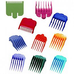 Wahl Coloured Clipper Heads - All sizes (1/2 - 8)